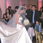 Beautiful Bride and Dress Rhode Island Wedding DJ and Wedding DJ Packages