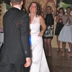 Happy Bride and Groom Dancing with Rhode Island DJ