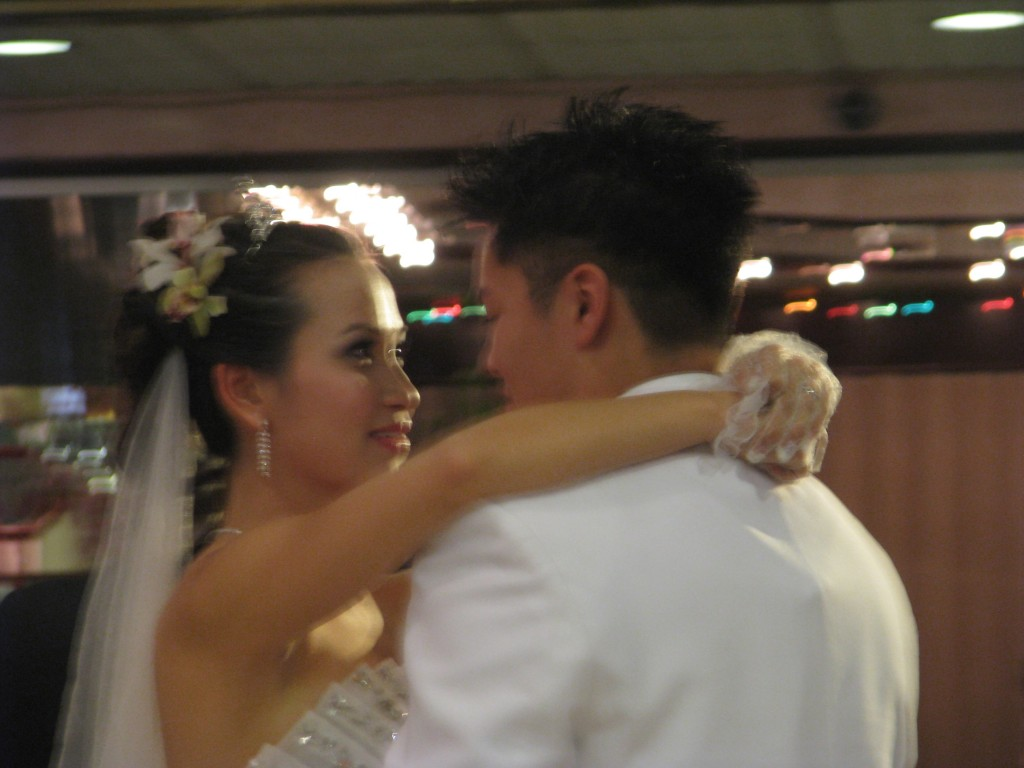Bride and Groom First Dance with Fun Rhode Island Multicultural Wedding DJ