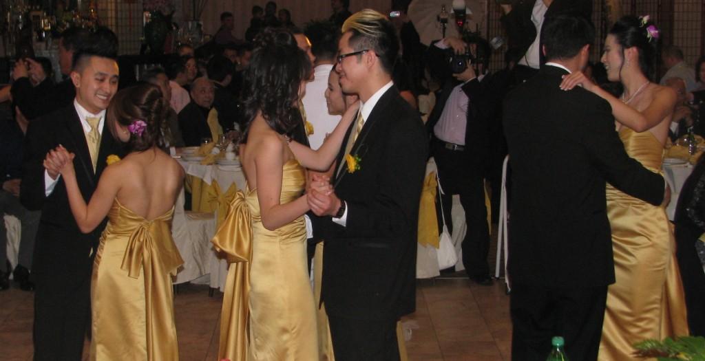 Bridal Party Dance with Fun Rhode Island Multicultural Wedding DJ