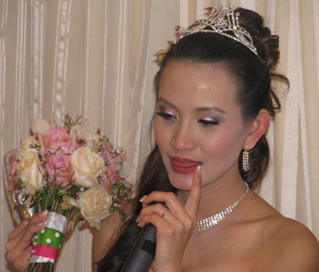 Beautiful Bride with Fun Rhode Island Multicultural Wedding DJ