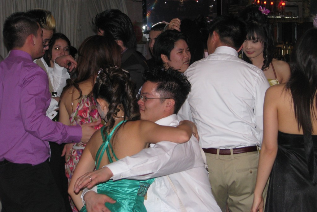Bride and Groom Wedding Dance Party with Fun Rhode Island Multicultural Wedding DJ