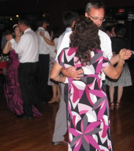 Fun Couple Dance at Multicultural Wedding