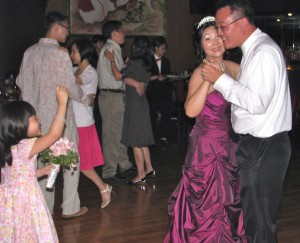 Bride and Groom First Dance at Chinese Wedding