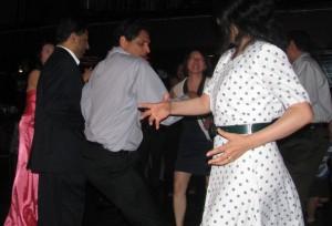 Fun Dancing at New Jersey Asian Wedding