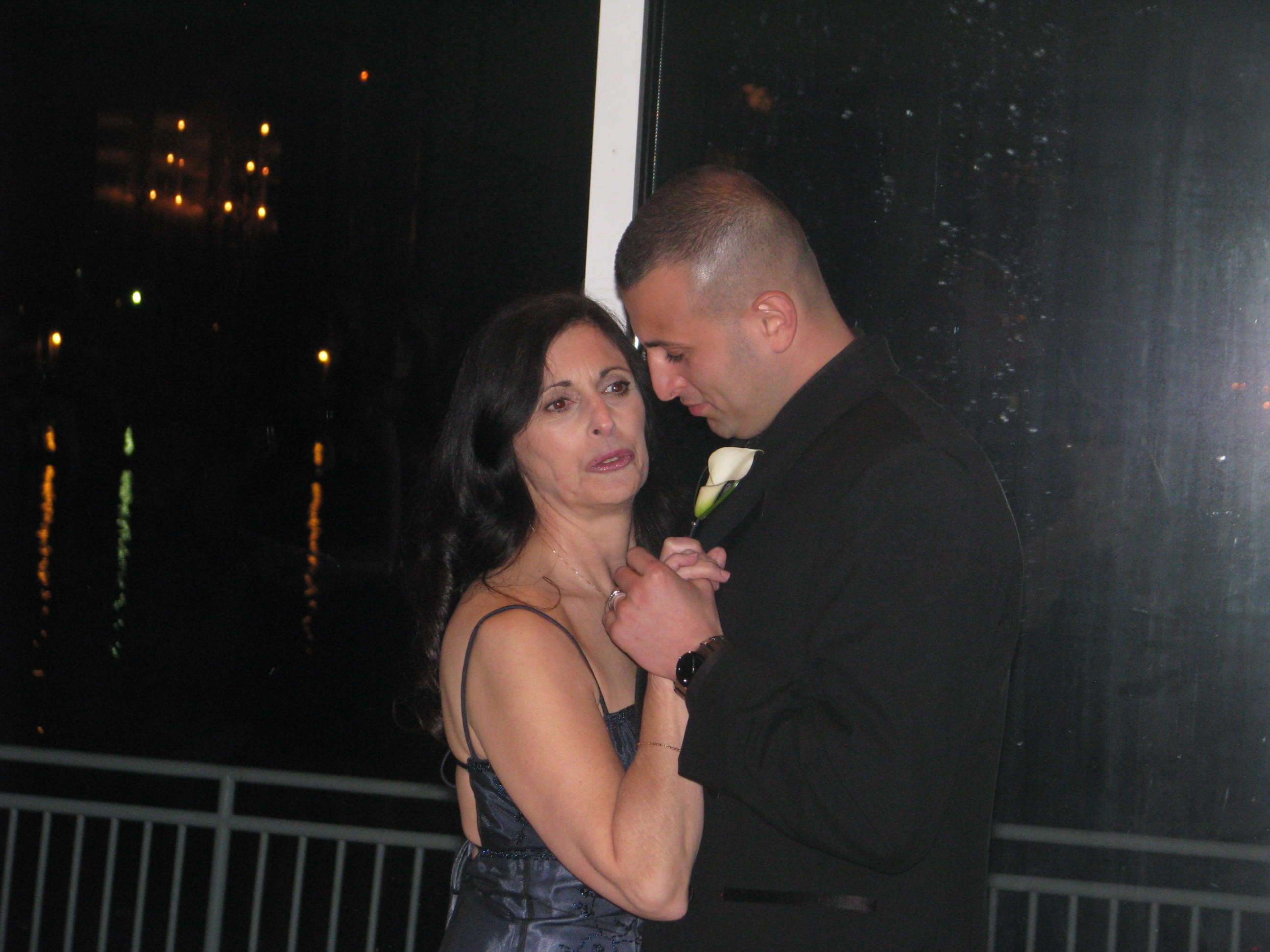 Mother Son Dance with Fun Wedding DJ at The View On The Hudson