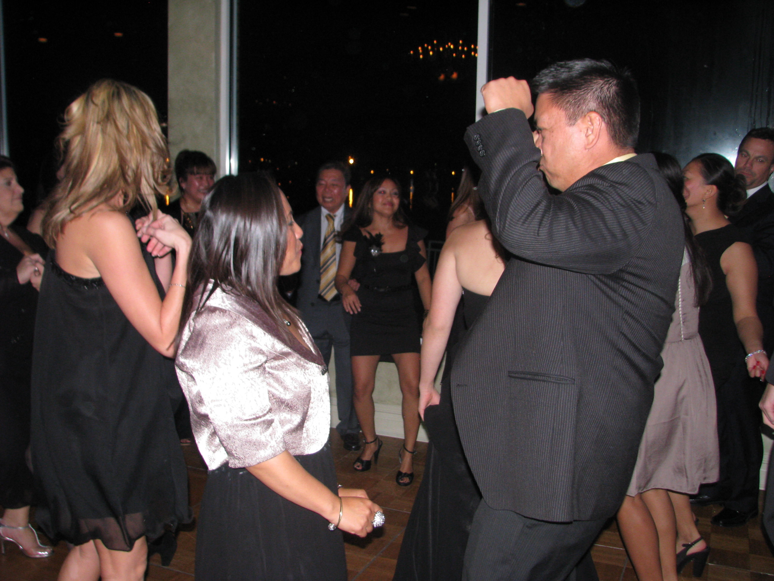 Dancing with Fun Multicultural Wedding DJ at The View On The Hudson