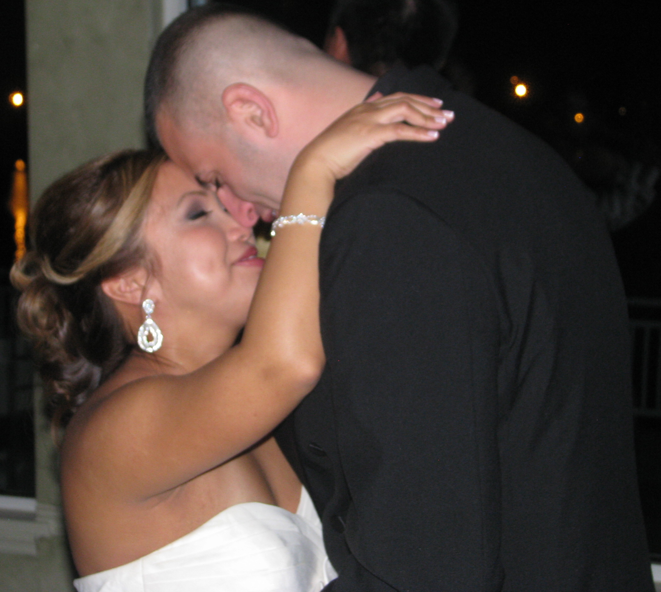 Bride and Groom Dance at Fun Multicultural Wedding DJ at The View On The Hudson