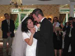 Bride and Groom First Dance at Beautiful New York Wedding