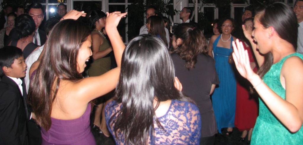 Dancing with Fun Asian Rhode Island Wedding DJ at Madison Hotel Morristown
