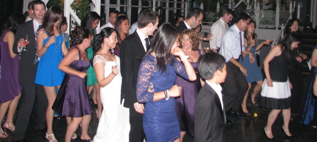 Bride Dancing with Fun Multicultural Rhode Island Wedding DJ at Madison Hotel Morristown
