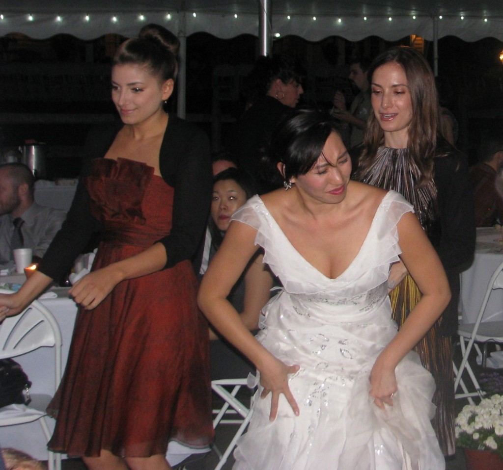 Bride Dancing with Rhode Island Multicultural Wedding DJ