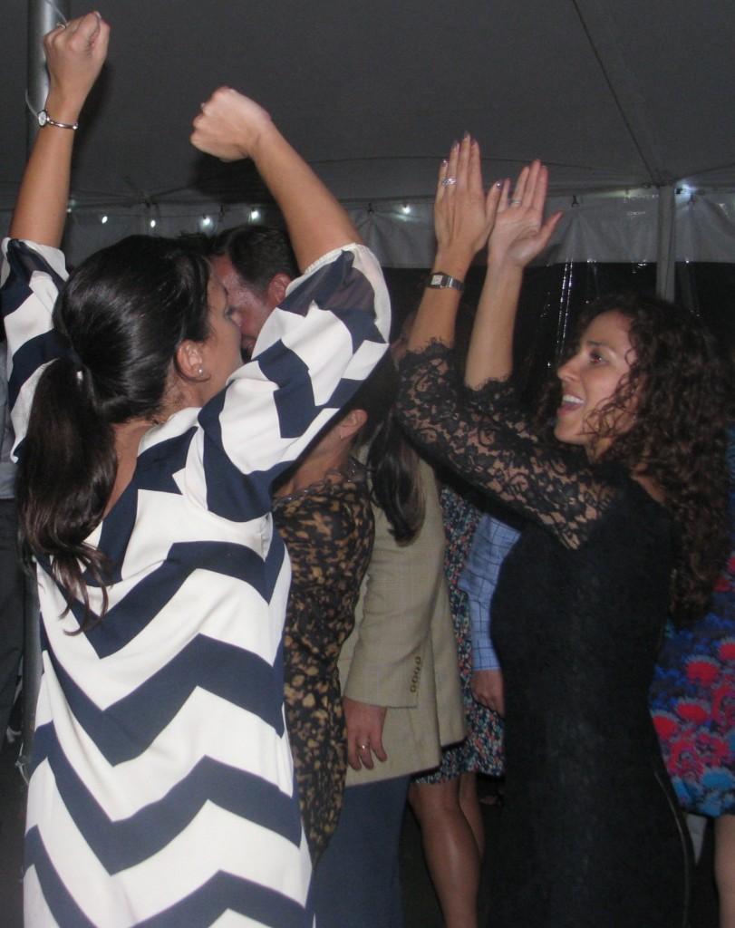 Fun Women Dancing with Rhode Island Multicultural Wedding DJ