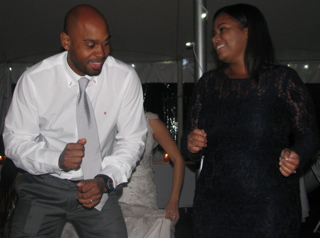 Fun Couple Dancing with Rhode Island Multicultural Wedding DJ