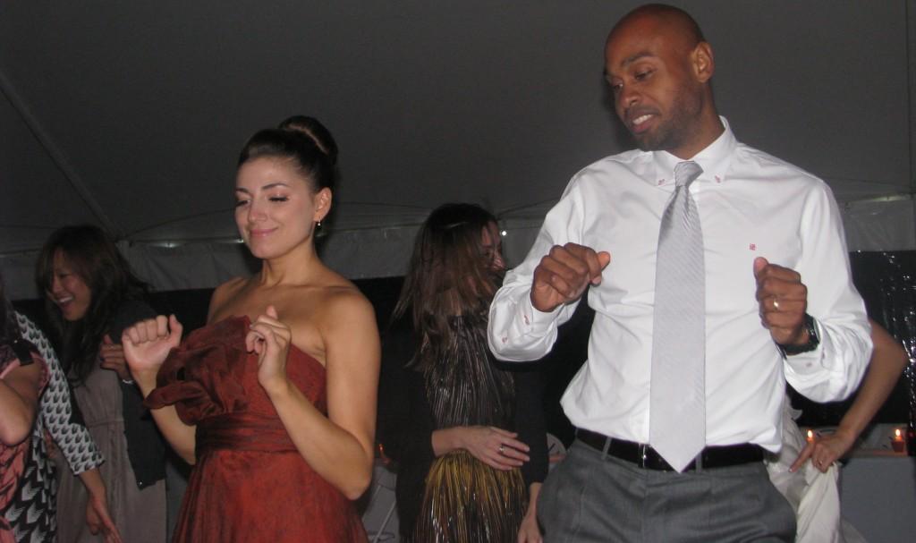 Fun Dancing with Rhode Island Multicultural Wedding DJ