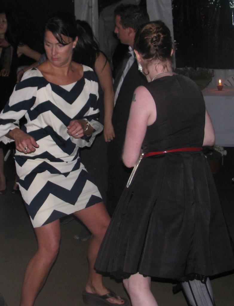 Fun Dancing with Outdoor Rhode Island Multicultural Wedding DJ