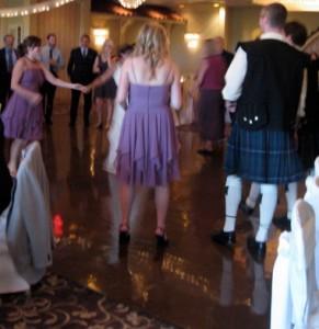 Fun Wedding DJ with Bridal Party