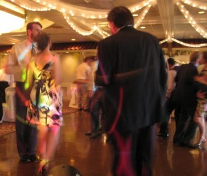 Friends and Family Fun Dance Party at Wedding