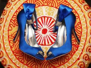 Bride Shoes with Fun Rhode Island Wedding DJ