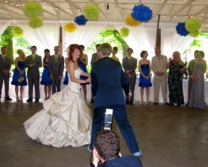 First Dance at Beautiful Rhode Island Wedding DJ