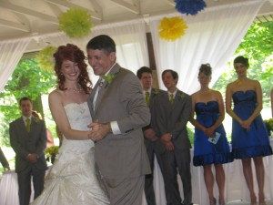 Father Daughter Dance at Beautiful Rhode Island Wedding DJ at Rutgers Gardens