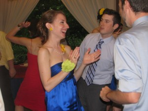 Fun Dancing at Beautiful Rhode Island Wedding DJ at Rutgers Gardens