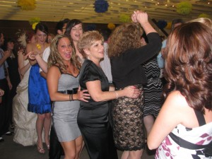 Fun Dancing at Beautiful Rhode Island Wedding DJ at Outdoor Wedding