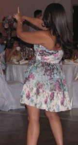 Beautiful Woman Dancing at Rhode Island Multicultural Wedding DJ Fun-Da-Mental Ja Sha Taan