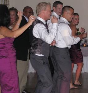 Groom Dancing with Fun Rhode Island Wedding DJ