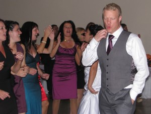 Fun Dancing with Beautiful Rhode Island Wedding DJ