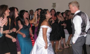 DJ Non-Traditional Romance Mix Rhode Island Wedding DJ
