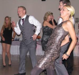Fun Rhode Island Wedding DJ with Tom Tom Club Genius of Love