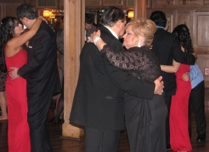 Happy Friends and Family Dance with Rhode Island Multicultural Wedding DJ