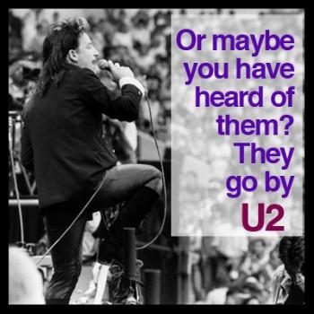 U2 Bad at Live Aid with Rhode Island DJ