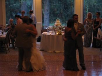 Bride and Groom  Dance with Rhode Island Wedding DJ