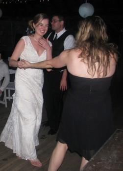 Fun  Bride at Rhode Island Wedding with Rhode Island Wedding DJ
