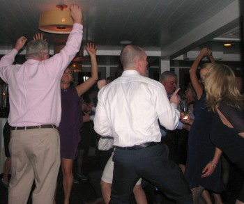 Fun Providence Wedding at Waterman Grille with Rhode Island Wedding DJ