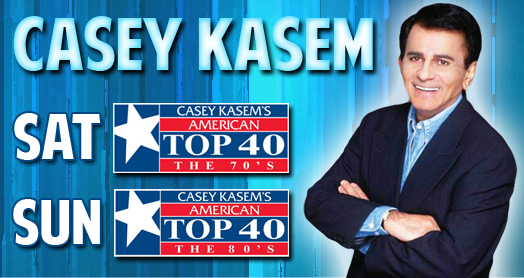 Casey Kasem The Most Famous DJ EVER - Rhode Island DJ - Providence DJ - Casey Kasem- american top 40