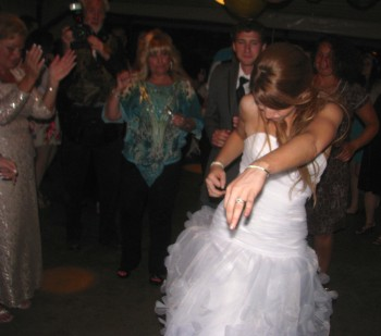 Providence wedding DJ - Rhode Island Wedding DJ - Beautiful Outdoor Wedding - Rutgers Gardens DJ - Massachusetts Wedding DJ - Happy bride