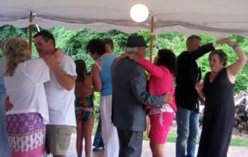 Beach Wedding - Fun RI Wedding DJ - MA Wedding DJ - Backyard Wedding