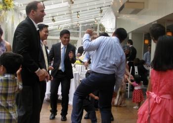 Fun Afternoon Wedding - Sunday Afternoon Wedding -  Fun Wedding DJ - Multicultural Wedding DJ