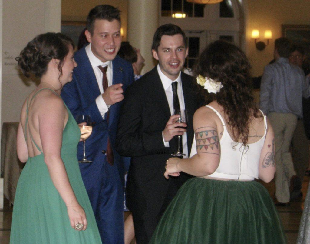 ashley amp jay wedding intimate fun wedding fun rhode