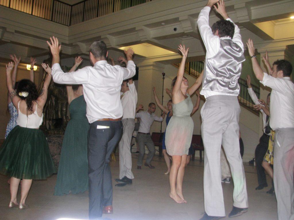 Ashley & Jay Wedding - Intimate Fun Wedding - DJ Mystical Michael Wedding Party DJ